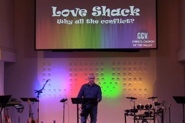 January 15, 2017, 'Love Shack: Why All The Conflict?' - Troy Gardner