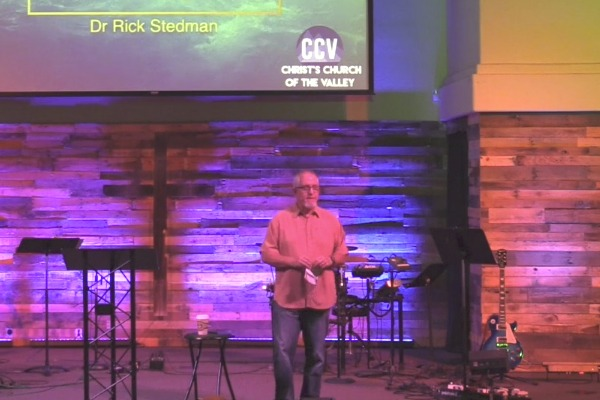 June 25, 2017, 'Why Read the Bible? Part 2' - Dr. Rick Stedman